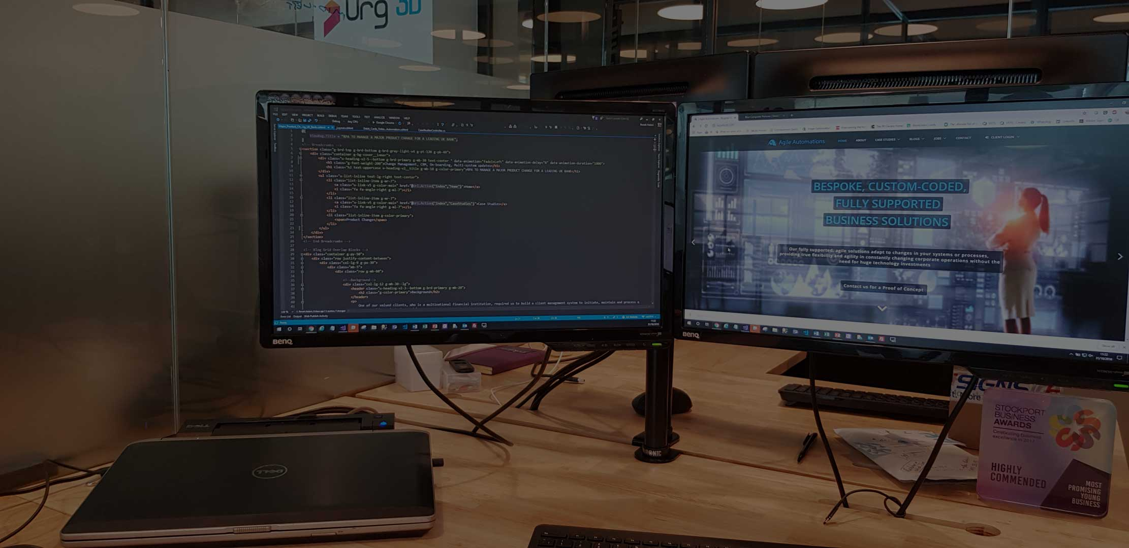 Agile RPA Developer's Desk