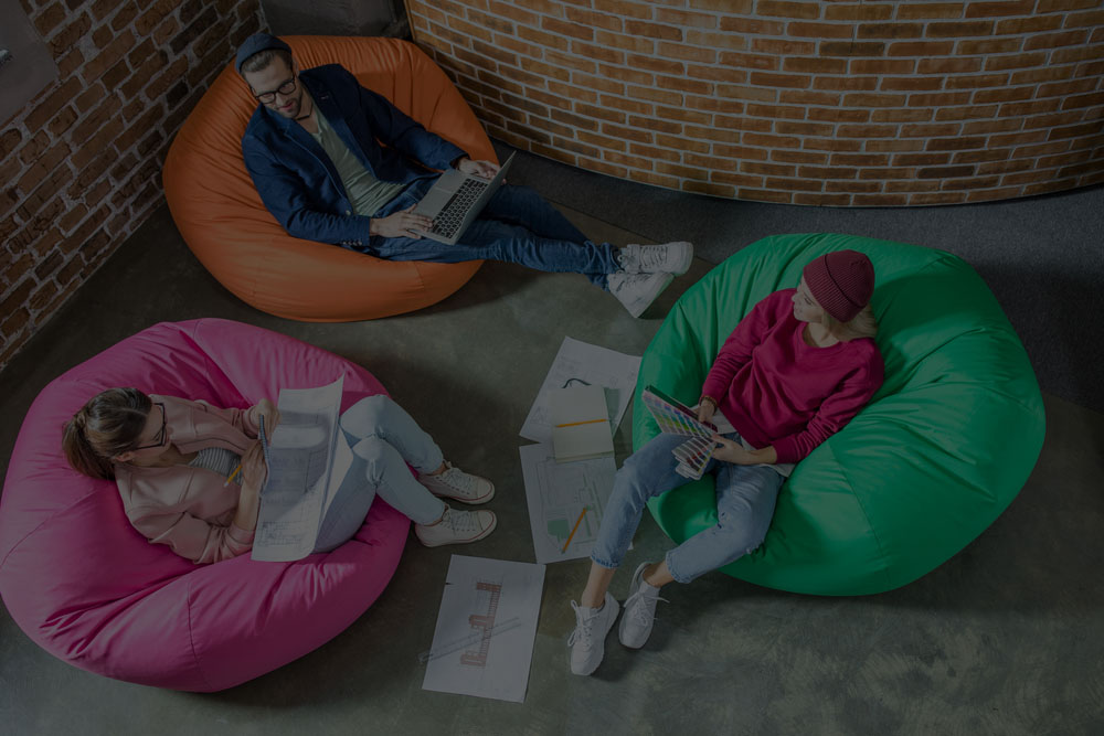 Agile Bean Bags Corner at Design city festival