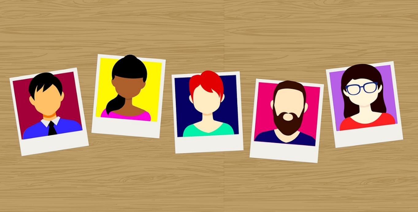 agile automations faces carousal showing cartoon photos of different faces
