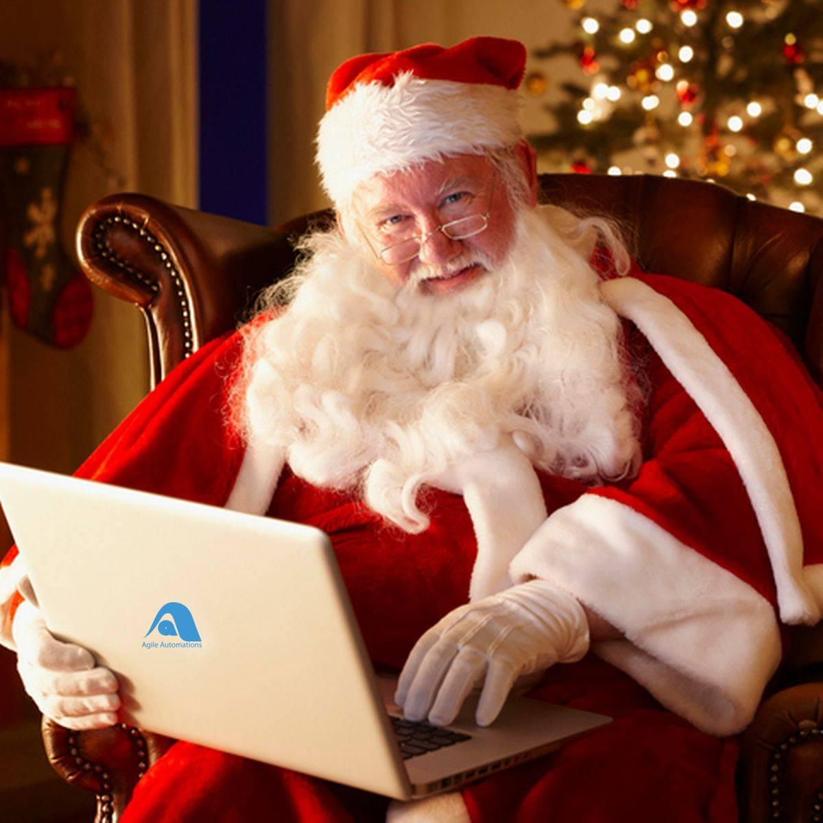 Santa using Agile Automations RPA